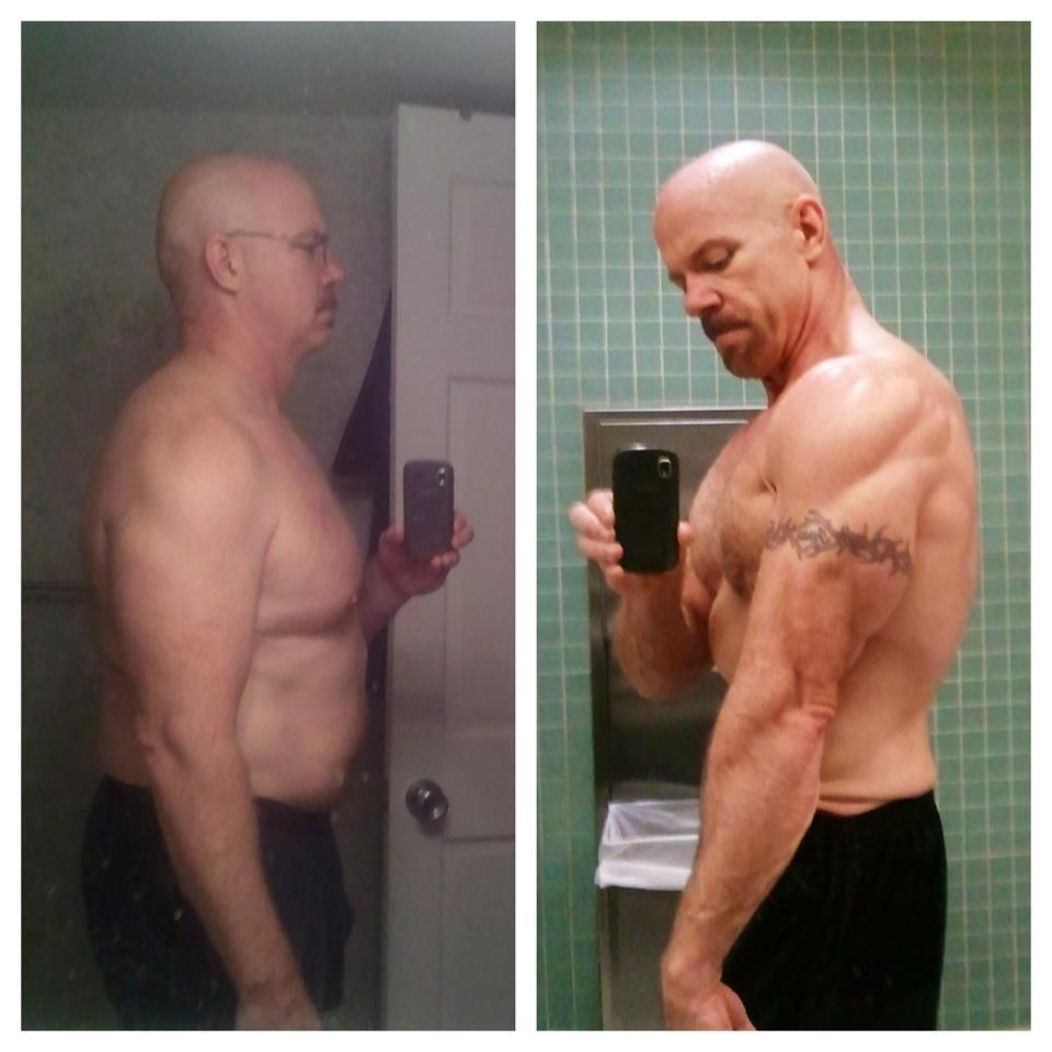 Colin shred over 35 pounds of fat and put on 17 lbs of sweet, sweet gainz.